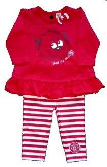 89121e56d NEW IN - Manchester United Girl s Top  amp  Leggings. £14.99 Manchester  United Baby