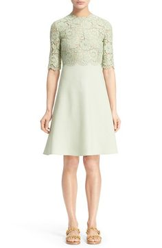 Valentino Lace Bodice Dress available at #Nordstrom