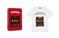 Collection de t-shirts Gucci x Angelica Hicks