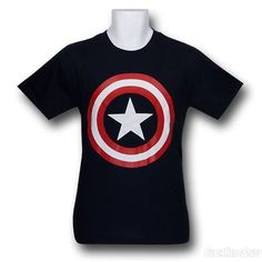 Captain America T-Shirts""