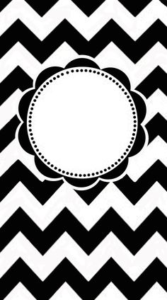 Free Printable To Make a Chevron Pattern Monogrammed iPhone Cover | In My Own Style