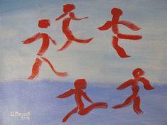 """Saatchi Art Artist Oleksandr Pradidenko; Painting, """"""""Are you dancing?"""""""" #art"""