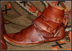 New viking shoes by ~VendelRus on deviantART
