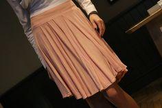 romantic pastel skirt