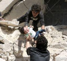 بمباران+مجدد+سه+بیمارستان+در+حلب