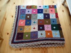 ....I have returned from my journey..... ....a journey that involved me, and a blanket.... ....a crocheted blanket.... ...