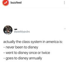 Class system in America is decided by Disneyland visits Haha Funny, Hilarious, Lol, Funny Stuff, Funny Relatable Memes, Funny Quotes, Camilla, Just For Laughs, Laugh Out Loud