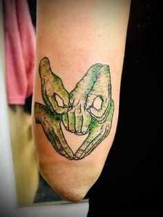 Leg Tattoos, I Tattoo, Tatoos, Labrynth Tattoo, Terry Jones, Cute Tats, Jewelry Tattoo, Helping Hands, Future Tattoos