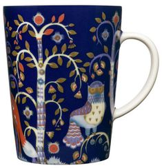 Taika Mug Blue bottom by Iittala
