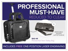 Presidential Tech Trolley Bag – Reduced To Clear – Bell Jar Pty Ltd