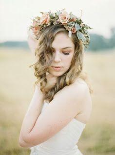 Coronas de flores para novias   Moda y Tendencia 2014
