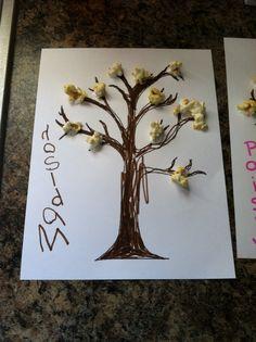 Kids tree project