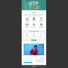 OTP Campaign | Avanak  Design by : Navid Abooie