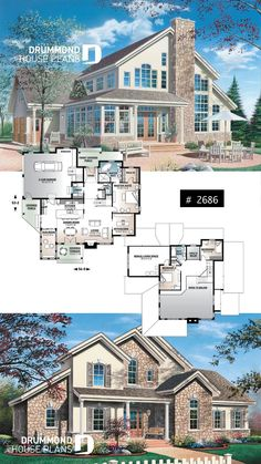 2 car garage country house plan with private bathroom 3 bedrooms winter garden work . - 2 car garage country house plan with private bathroom 3 bedrooms winter garden study huge kitchen i - Sims 4 House Plans, Beach House Plans, Cottage House Plans, Craftsman House Plans, Country House Plans, Dream House Plans, Modern House Plans, Huge Kitchen, Country Kitchen