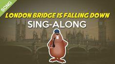 London Bridge is Falling Down | Nursery Rhymes | Children Songs  [Sing-A...