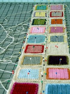 Square Patch...a way to bust my yarn stash. by mindy