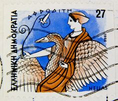 beautiful stamp Hellas Greece 27 dr. postage Afrodita Aphrodite Griechenland Briefmarke greek stamps timbres Grèce selos Grecia bollo francobollo 希腊 邮票 yóupiào Xīlà Греция марка poste timbres Grèce bolli selos Grécia sellos francobolli burðargjald Grikkl | Flickr - Photo Sharing!