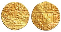 OTTOMAN EMPIRE. Murad III (AH 982-1003 / AD 1574-1595). GOLD Sultani. Misr (Cairo). - Gold Coins - Coins Ottoman Empire, Rare Coins, Gold Coins, Cairo, Notes, Report Cards, Hand Warmers