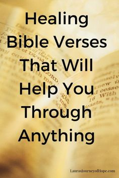 Bible Verses That Will Help You Through Anything
