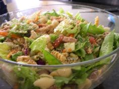 Taste Buds are the Best Buds: Teriyaki Pasta Salad- great for summer!