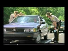"""""""Meow"""" from Super Troopers (2001). Even out of context, this is hilarious. Full transcript from IMDb - http://www.imdb.com/title/tt0247745/quotes?qt=qt0470809."""