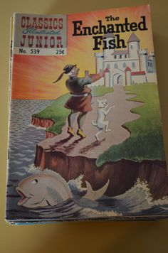 Classic Illustrated Jr. The Enchanted Fish