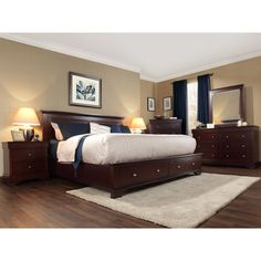 Hudson 6-piece King Bedroom Set $2699.99 until the end of May