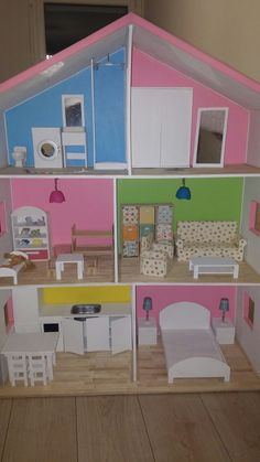 Barbie, Bed, Furniture, Home Decor, Homemade Home Decor, Stream Bed, Home Furnishings, Beds, Decoration Home