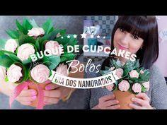BUQUÊ DE CUPCAKES - CHOCOLATE COM CREME DE FRAMBOESA | I Could Kill For Dessert 91 #ICKFD - YouTube