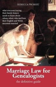 Marriage Law for Genealogists: The Definitive Guide …what everyone tracing their family history needs to know about where, when, who and how their English and Welsh ancestors married Genealogy Search, Genealogy Sites, Family Genealogy, Free Genealogy, Genealogy Forms, Family Roots, All Family, Family Trees, Marriage Law
