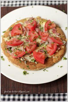 Dietetyczna pizza z patelni