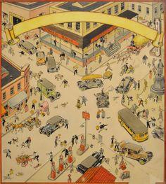 London Tony Sarg, Illustrator (1930s) ...