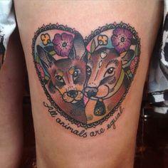 By Avalon at The Grand Illusion - Melbourne, Australia. Vegan Tattoo, Neo Tattoo, Neo Traditional Tattoo, Illusions, Body Art, Tattoos, Unique, Melbourne Australia, Tattoo Ideas
