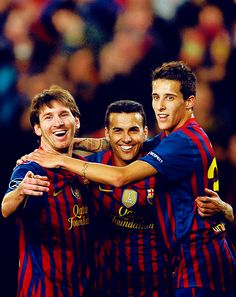 Messi, Pedro and Tello