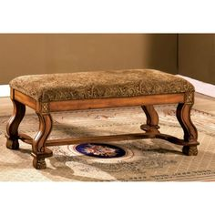 Antique Solid Oak Wood Bench Seat Modern Entryway  Living room Hallway  #Modern