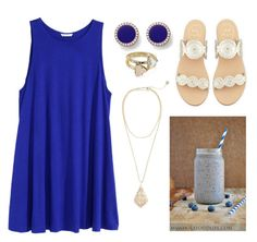 God has a season for everything by abbae on Polyvore featuring polyvore, fashion, style, H&M, Jack Rogers, FOSSIL and Kendra Scott