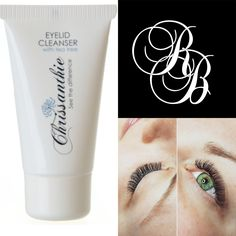 Lash Experts and Chrissanthie Eyelid Cleanser stockist in FINLAND.  Visit www.ripsibar.com  #eyelashextensions #ripset #chrissanthie #eyecleanse