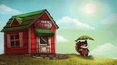 Animal Crossing by Piper Thibodeau