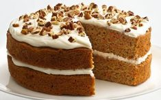 Cool Healthy Carrot Cake