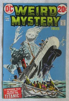Weird Mystery Tales #2 (Sep-Oct 1972, DC) FN 6.0