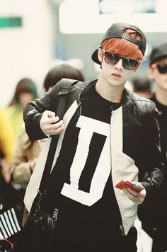EXO Luhan ♡ he looks so cool