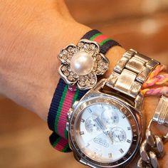 Watch Strap Rhinestone Bracelet DIY thumbnail by Trinkets in Bloom