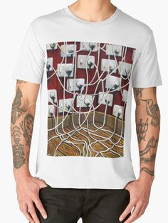 Electricians T-Shirts and gifts! Unique gifts for the electrician in your life. Surreal art tees by artist Tank