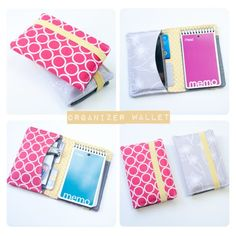 Memo and organizer wallet