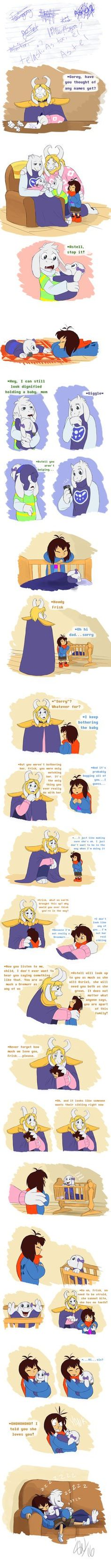Undertale - Baby Makes 5 (What if) by TC-96.deviantart.com on @DeviantArt