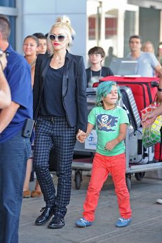 Gwen Stefani: one of my style icons.