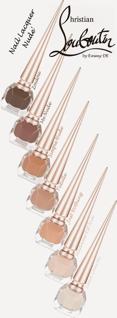 Brilliant Luxury by Emmy DE * Christian Louboutin Nail Lacquer 'Nude' Collection