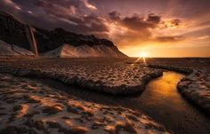 River into the sun by Luca Benini on 500px