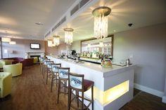 The bar at Bannatyne Spa Hotel Hastings.