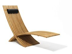 Tumbona de jardín plegable NOZIB by Skargaarden | diseño Nils-Ole Zib